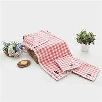 【MORINO】MIT美國棉方格漸層方巾(6入組)