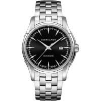 Hamilton Viewmatic 紳士大三針機械腕錶-黑x銀/44mm H32715131
