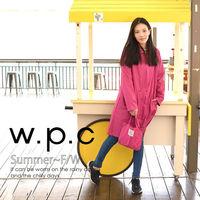 【w.p.c】率性修身款。時尚雨衣/風衣(R1039)(4色任選)