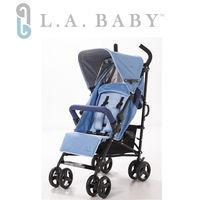 L.A. Baby 美國加州貝比  時尚輕便嬰兒手推車(藍色)