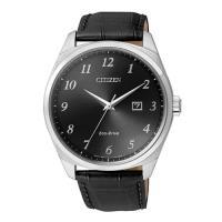 【CITIZEN星辰】Eco-Drive光動能極簡時尚計時腕錶-黑/42mm(BM7320-01E)