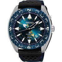 SEIKO Prospex GMT 菁英人動電能腕錶-藍/45mm 5M85-0AE0B(SUN059P1)