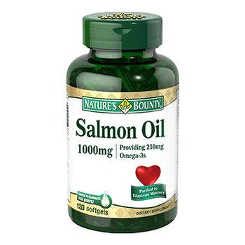 自然之寶鮭魚油軟膠囊1000mg 四入