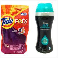 美國原裝Tide Pods汰漬洗衣凝膠球3效合1(38入*1)+【美國PG芳香粒】衣物芳香粒-翡翠微風(泰版)(275g) *2