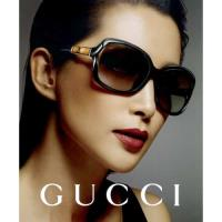 GUCCI-李冰冰代言-竹節太陽眼鏡(黑色) 無盒版