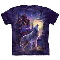 【摩達客】(預購)美國進口The Mountain 狼城堡 純棉環保短袖T恤