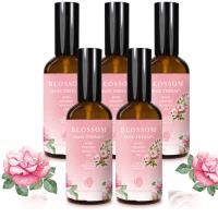 【BLOSSOM】玫瑰植萃勻體曲線緊緻修護按摩油(100ML/瓶 共5瓶)