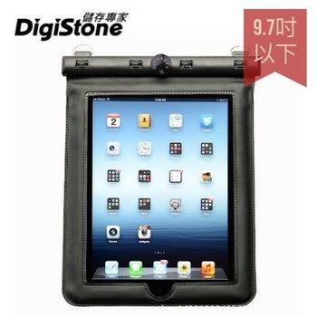 DigiStone iPad 9.7吋 平板電腦防水袋/保護套/可觸控(溫度計型) 適9.7吋以下平板-黑色