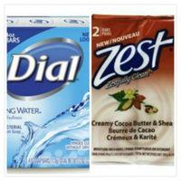 Dial Spring Water礦泉抗菌香皂(113g*3/組)*4 +Zest除汗味香皂乳油木果(3.2oz/90g)*2/組*6