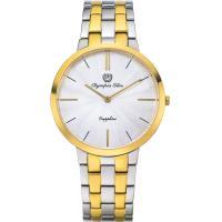Olympia Star 奧林比亞之星-時尚水波紋腕錶-雙色/40mm 58060MSK