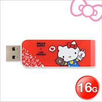 Apacer宇瞻AH334 Kitty X Line派對聯名碟 16GB Kitty紅(AH334R)