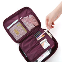 DF Queenin - 韓版第2代旅行物品收納包-共5色