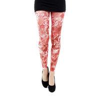 【摩達客】英國進口義大利製【Pamela Mann】紅薔薇 內搭褲九分褲襪/無足褲襪