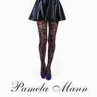【摩達客】英國進口義大利製【Pamela Mann】巴洛克圖紋印花彈性褲襪