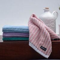 【MORINO】MIT美國棉雙面條紋方巾 (6入組)