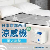 COOLWATERMAT京都西川水動冷循環機單人涼墊CWM3010