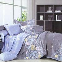 【情定巴黎】迷戀花海 100%精梳純棉雙人四件式床包被套組-獨立筒適用