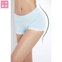 【好棉嚴選】(超值6件組) 蒂巴蕾Shorts collection 竹纖維Lace褲-多色任選