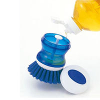 【GlideBuy】可倒入清潔劑廚房清潔刷_K-237B