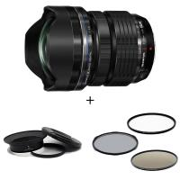 Olympus M.ZD 7-14mm F2.8 鏡頭(公司貨) + STC 鏡接環 + STC ND64 105mm 減光鏡 套組