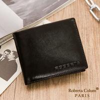 Roberta Colum - 魅力無限牛皮款8卡2照短夾-共2色