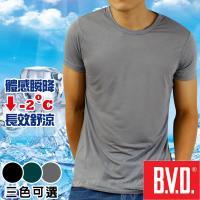 加-BVD 沁涼舒適 酷涼圓領短袖