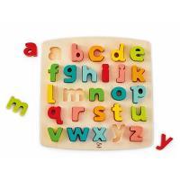 【德國Hape愛傑卡】 ABC小寫立體木拼圖