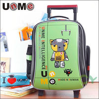【UnMe】機器人高年級拉桿後背書包(綠色)