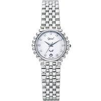 Ogival 瑞士愛其華  經典復刻深情珠寶腕錶-銀/28mm N303LW