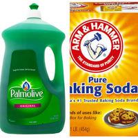 美國 Palmolive棕欖濃縮洗碗精2660mlx2+美國 ArmHammer小蘇打粉454gx6