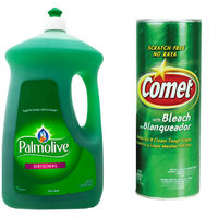 [美國 Palmolive]棕欖濃縮洗碗精 2660mlx2+[美國 Comet]萬用強力去污粉原始香味 595gx3