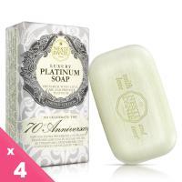 Nesti Dante 義大利手工皂-70週年典藏紀念版-鉑金菁萃皂(250g)-4入組