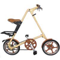 STRiDA速立達 16吋LT碟剎折疊單車(三角形單車)-奶油色