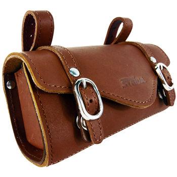 【STRiDA 速立達】真皮高質感座墊袋(咖啡)
