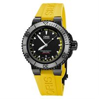 Oris Aquis Depth Gauge深度測量潛水套錶~IP黑 46mm 0173376754754~SETRS