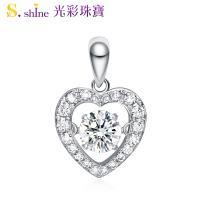 【光彩珠寶】日本舞動鑽石項鍊 愛的約定 GIA0.3克拉 F VS2
