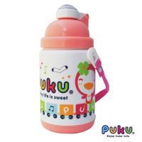 任-PUKU藍色企鵝 - 保溫水壺375ml(粉色)