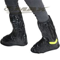 天龍牌新版反光塑膠雨鞋套 -2雙