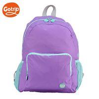【GO TRIP 尚旅】極輕量摺疊後揹包 螢光紫