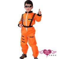天使霓裳 飛行員 空行少年 萬聖節角色扮演童裝系列(橘紅) TH1339