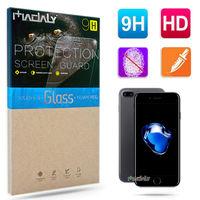 MADALY for Apple iPhone 7 Plus 5.5吋 防油疏水抗指紋 9H 鋼化玻璃保護貼