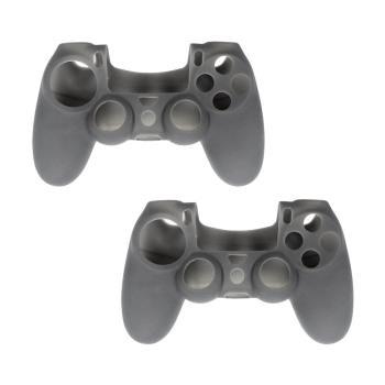 PS4 DUALSHOCK 4 無線控制器專屬果凍套 (霧黑 二入組)