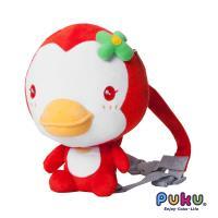 PUKU藍色企鵝 企鵝防走失背包-紅色