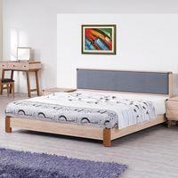 【時尚屋】[G17]柏克5尺床片型雙人床G17-A019-2不含床頭櫃-床墊