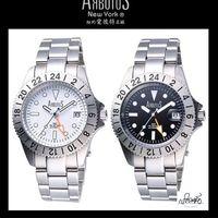 萬寶鐘錶 ARBUTUS 愛彼特 限量雙時區紀念錶 AR9928-0L(黑色)/AR9928-1L(白色)