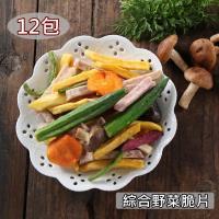 愛上新鮮-綜合野菜脆片* 12包