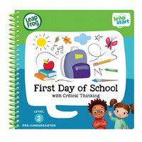 美國【LeapFrog 跳跳蛙】LeapStart Jr.全英幼兒行動學習書籍 幼兒8-上學趣