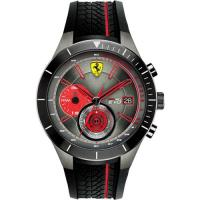 Scuderia Ferrari 法拉利 RedRev Evo 計時手錶-灰x黑/46mm 0830341