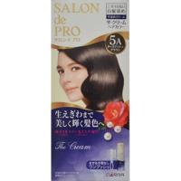 日本dariya沙龍級ONE PUSH女士用白髮染髮乳(#5A深亞麻棕)*3