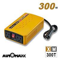 AutoMaxx   XM-300T 12V300W汽車電源轉換器